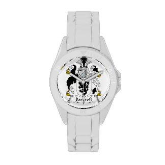 Escudo de la familia de Barcroft Reloj