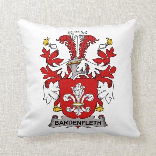 Escudo de la familia de Bardenfleth Cojín