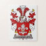 Escudo de la familia de Bardenfleth Rompecabeza Con Fotos