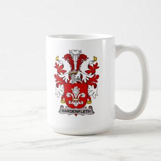 Escudo de la familia de Bardenfleth Taza De Café