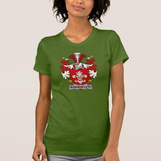 Escudo de la familia de Bardenfleth Tshirts