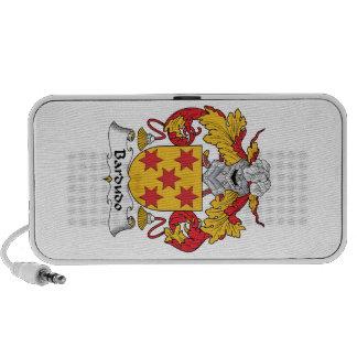 Escudo de la familia de Bardudo iPod Altavoz