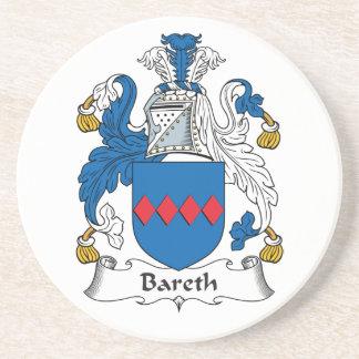 Escudo de la familia de Bareth Posavasos Para Bebidas