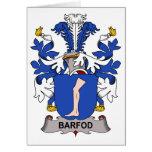 Escudo de la familia de Barfod Tarjeton