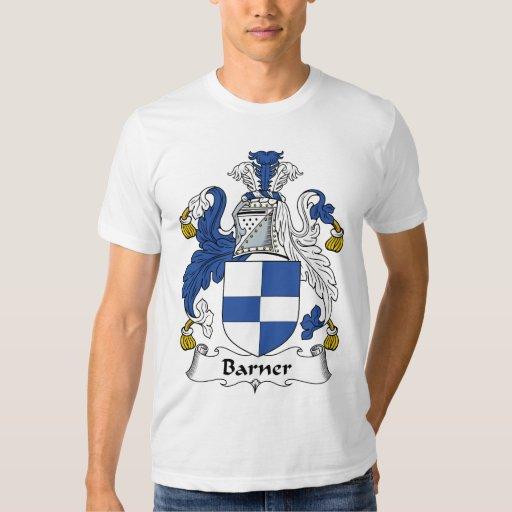 Escudo de la familia de Barner Camisas