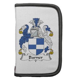 Escudo de la familia de Barner Organizadores