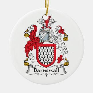 Escudo de la familia de Barnewall Adorno De Reyes