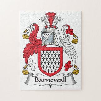 Escudo de la familia de Barnewall Puzzle