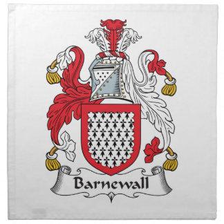 Escudo de la familia de Barnewall Servilletas De Papel