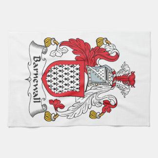 Escudo de la familia de Barnewall Toalla