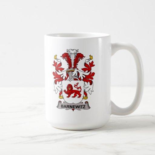 Escudo de la familia de Barnewitz Taza De Café