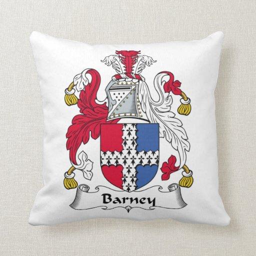 Escudo de la familia de Barney Almohada