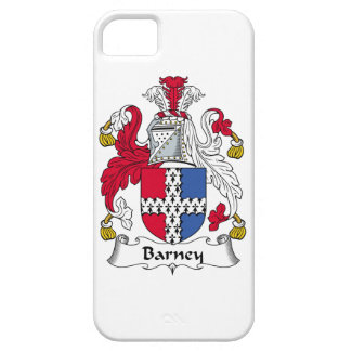 Escudo de la familia de Barney iPhone 5 Case-Mate Funda