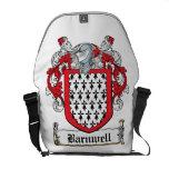 Escudo de la familia de Barnwell Bolsas De Mensajería