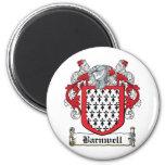 Escudo de la familia de Barnwell Imán De Frigorífico