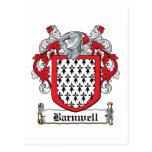 Escudo de la familia de Barnwell Postal