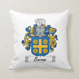 Escudo de la familia de Barone Almohada