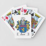 Escudo de la familia de Baroni Baraja Cartas De Poker