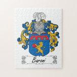 Escudo de la familia de Baroni Puzzle