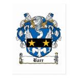 Escudo de la familia de Barr Postal