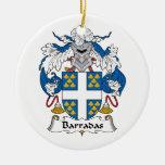 Escudo de la familia de Barradas Adornos De Navidad