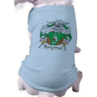 Escudo de la familia de Barranca Ropa Macota