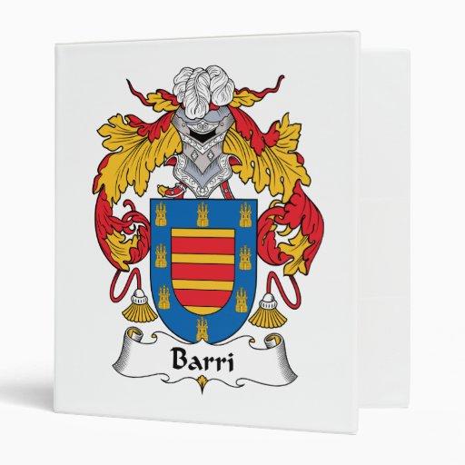 Escudo de la familia de Barri