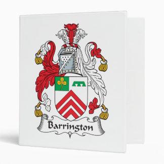 """Escudo de la familia de Barrington Carpeta 1"""""""