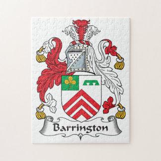 Escudo de la familia de Barrington Rompecabeza