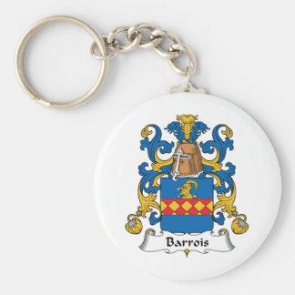 Escudo de la familia de Barrois Llavero Redondo Tipo Pin