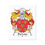 Escudo de la familia de Barroso Impresiones En Lona