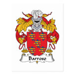 Escudo de la familia de Barroso Postal
