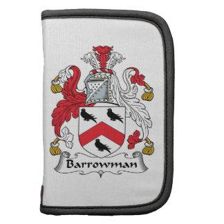 Escudo de la familia de Barrowman Planificador