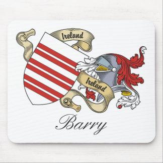 Escudo de la familia de Barry Mousepads