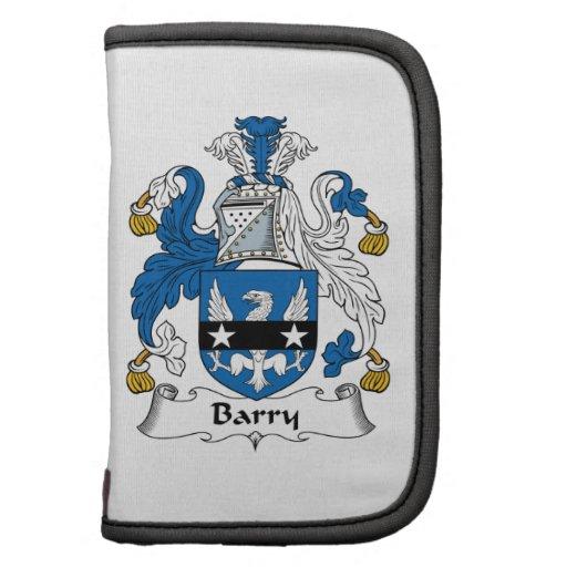 Escudo de la familia de Barry Organizador