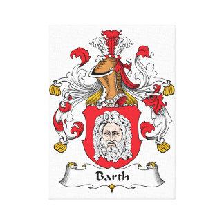 Escudo de la familia de Barth Lona Estirada Galerías