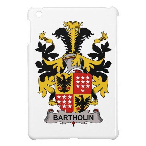 Escudo de la familia de Bartholin iPad Mini Carcasas