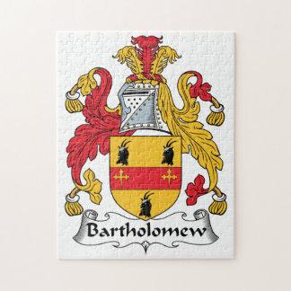 Escudo de la familia de Bartholomew Puzzles