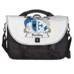 Escudo de la familia de Bartley Bolsas Para Portatil