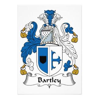 Escudo de la familia de Bartley Comunicados