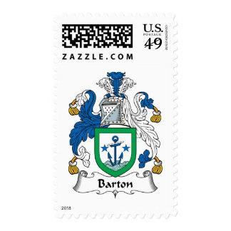 Escudo de la familia de Barton Envio