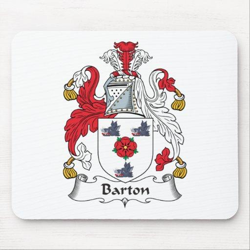 Escudo de la familia de Barton Mousepads