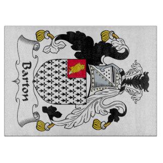 Escudo de la familia de Barton Tablas De Cortar
