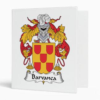 Escudo de la familia de Barvanca