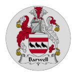 Escudo de la familia de Barwell Fichas De Póquer