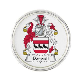 Escudo de la familia de Barwell Insignia