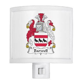 Escudo de la familia de Barwell Luz De Noche