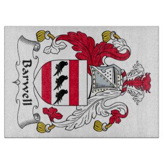 Escudo de la familia de Barwell Tablas De Cortar