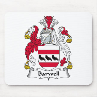 Escudo de la familia de Barwell Tapete De Ratón