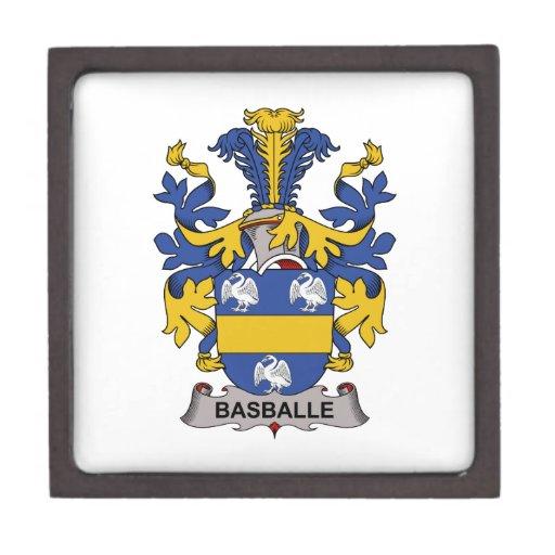 Escudo de la familia de Basballe Caja De Recuerdo De Calidad